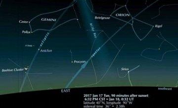 В ночь на Крещение в небе можно будет увидеть астероид