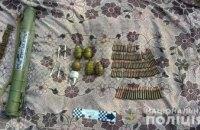 В Днепропетровской области в брошенном доме нашли склад боеприпасов