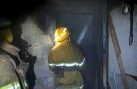 В Никополе сгорела летняя кухня