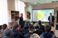 Эффективное производство:  ДТЭК Днепровские электросети показали студентам работу компании изнутри