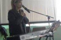 Финская певица, лауреат Евровидения побывала в  Днепропетровской тюрьме