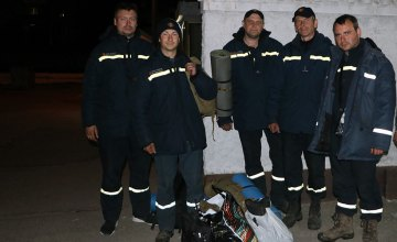 Пожарные Днепропетровщины вернулись из Зоны отчуждения (ФОТО. ВИДЕО)