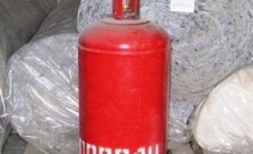 В Днепропетровске Совет безопасной жизнедеятельности запретил использовать газовые баллоны в торговых точках
