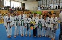 Днепровские спортсмены в составе сборной Украины завоевали 18 медалей на международном турнире по тхэквондо