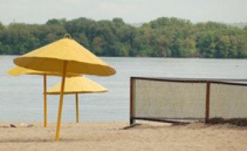 В Украине остаются закрытыми 80% пляжей