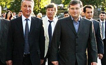 Александр Вилкул и Иван Куличенко поздравили предпринимателей с их профессиональным праздником
