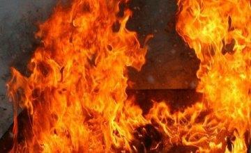 В центре Винницы произошел масштабный пожар в многоквартирном доме (ФОТО)