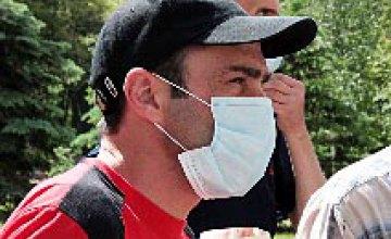 Больные туберкулезом пикетировали здание облсовета (ФОТОРЕПОРТАЖ)