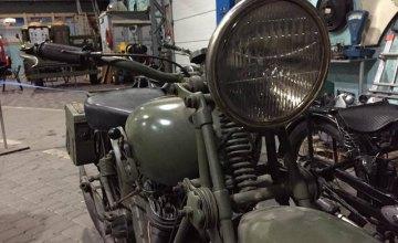 Днепровский музей «Машины времени» пополнился редкими старинными мотоциклами