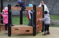 В Днепре в этом году появилось около полсотни новых игровых площадок и беседок в детсадах города