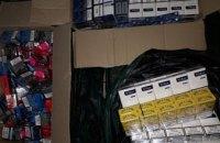 В Каменском изъяли контрафактных сигарет и алкоголя на более чем 100 тыс гривен
