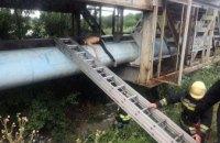 В Кривом Роге на трубе под мостом обнаружили подростка