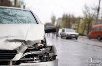 ДТП в Кривом Роге: пострадал пассажир легковушки (ФОТО)