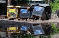 В апреле в Днепропетровске поменяются перевозчики мусора
