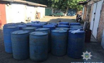 На Днепропетровщине полицейские разоблачили подпольное производство алкогольной продукции (ФОТО)