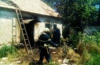 В Днепропетровской области при пожаре в собственном доме погиб 43-летний мужчина