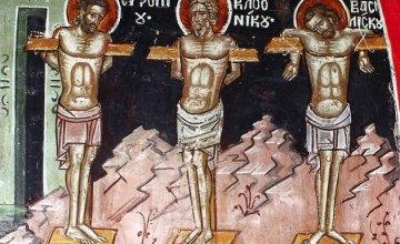 Сегодня православные молитвенно чтут память мучеников Евтропия, Клеоника и Василиска