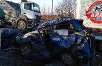 На Днепропетровщине произошло ДТП с участием трех автомобилей: есть пострадавшие
