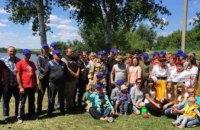 ДнепрОГА организовала для АТОшников и их семей рыбалку на пруду (ФОТО)