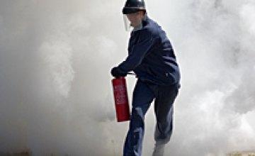 Днепропетровские спасатели потушили пожар на шахте «Западно-Донбасская», длившийся 3 дня