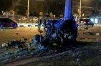 Жуткое ДТП в Харькове: в результате столкновения с электроопорой погибли 3 человека (ФОТО)