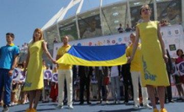 Андре Тан презентовал патриотическую форму, в которой украинские спортсмены поедут на Первые Европейские игры (ФОТО)