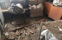 В больнице на Днепропетровщине рухнул потолок (ФОТО)