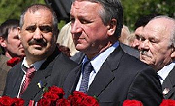 Сегодня состоялся парад в честь 66-летия освобождения Днепропетровска