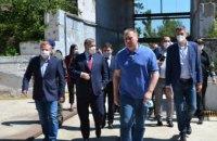 Арсен Аваков рассказал о перспективах Павлоградского химического завода (ФОТОРЕПОРТАЖ)