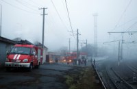 В центре Днепра загорелось подвальное помещение предприятия