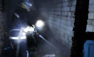 В Днепропетровской области на пожаре пострадал 73-летний  владелец частного домовладения