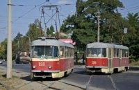 Сегодня в Днепре произойдут изменения в движении трамваев