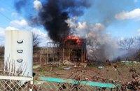 В Кривом Роге спасатели ликвидировали возгорание дачного дома
