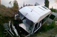 ДТП в Симферополе: в результате столкновения микроавтобуса и грузовика пострадали 17 человек