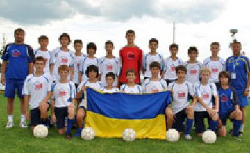 Днепропетровский футбольный клуб «Победа» достойно выступил на международном турнире FRAGARIA CUP