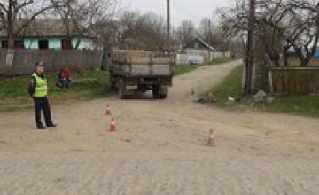 В Винницкой области под колесами грузовика погиб 6-летний ребенок