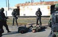 Силовые службы Днепропетровска провели совместные учения по антитеррору