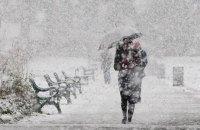 Погода в Днепре 4 января: мокрый снег, гололед и метель
