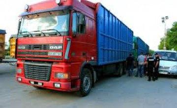 На Днепропетровщине оштрафовали 79 дальнобойщиков за перегруз фур