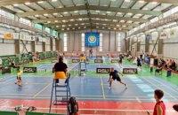 Спортсмени Дніпропетровщини здобули 15 медалей на Кубку України з бадмінтону
