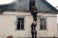 На Днепропетровщине пожарные ликвидировали пожар в частном секторе
