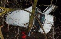 В Житомирской области микроавтобус съехал в кювет и перевернулся: есть погибшие (ФОТО)