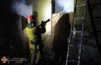 На Днепропетровщине горела хозпостройка: огнем уничтожено 12 тонн сена