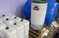 Криворожане организовали подпольный цех по изготовлению суррогатного алкоголя: изъято почти 10 тонн крепких напитков