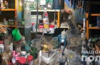 В Киевской области мужчина организовал нарколабораторию в гараже (ФОТО)