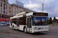 23 марта в Днепре приостановится движение некоторых троллейбусных маршрутов