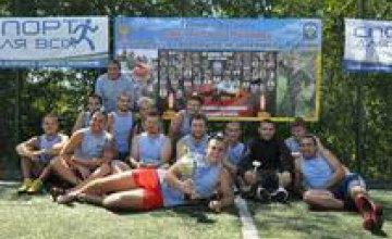 В Днепропетровске прошел футбольный турнир памяти бойца 25-ой бригады ВДВ (ФОТО)