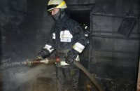 В Самарском районе  Днепра сгорела котельная