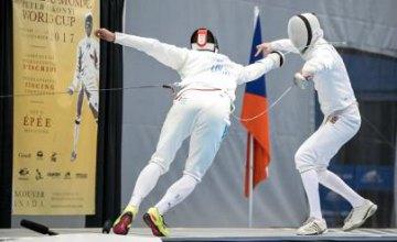 Шпажист из Днепра завоевал «серебро» на этапе Кубка мира