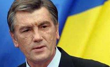 Ющенко не намерен распускать Верховную Раду